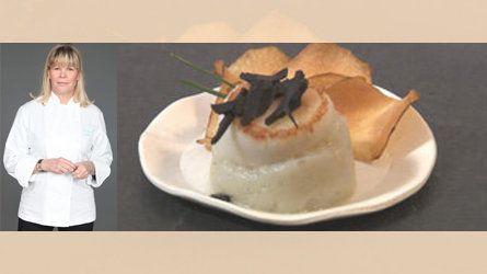Saint Jacques poêlées, purée de topinambours et truffes