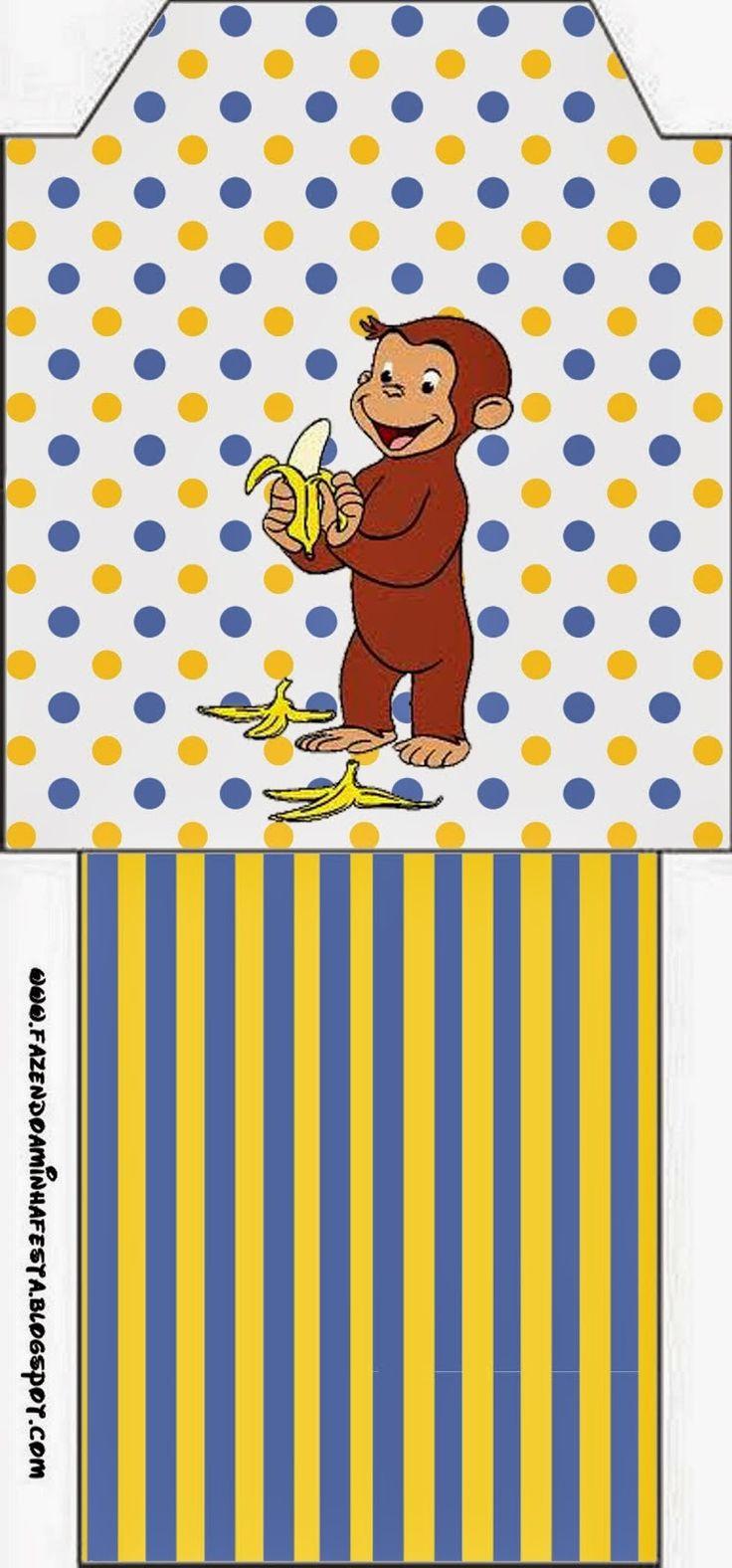 Krafty kidz center curious george coloring pages - Jorge El Curioso Imprimibles De Fiesta Gratis Kid Printablescurious Georgemonkeycard Ideascurious Georgeinvitationspicturesdo