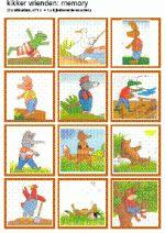 Memory - Kikker en zijn vrienden - plaatjes