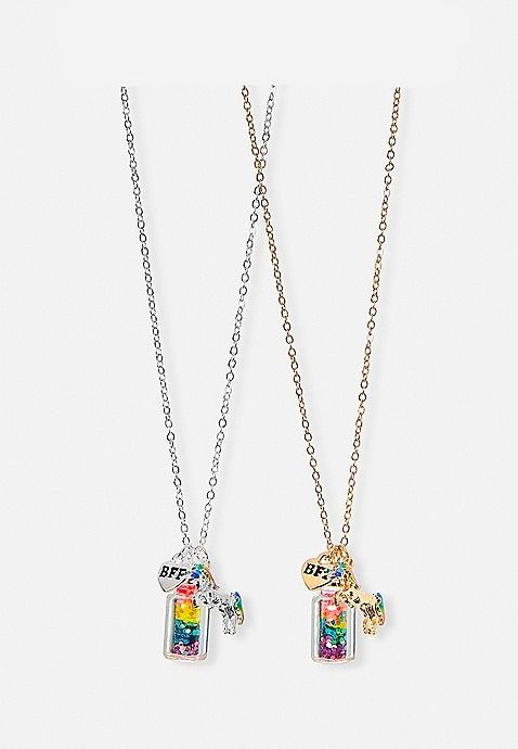 64f8a8dac112c BFF Rainbow Unicorn Potion Necklaces | Justice | For Arianna in 2019 ...
