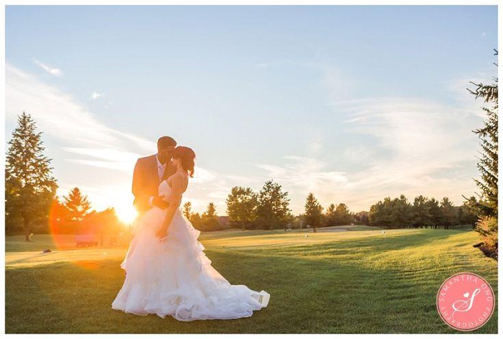 Sunset Photos   Ajax Deer Creek Golf Course Wedding Photos: Scarlet and Stennette   © 2015 Samantha Ong Photography samanthaongphoto.com   #samanthaongphoto