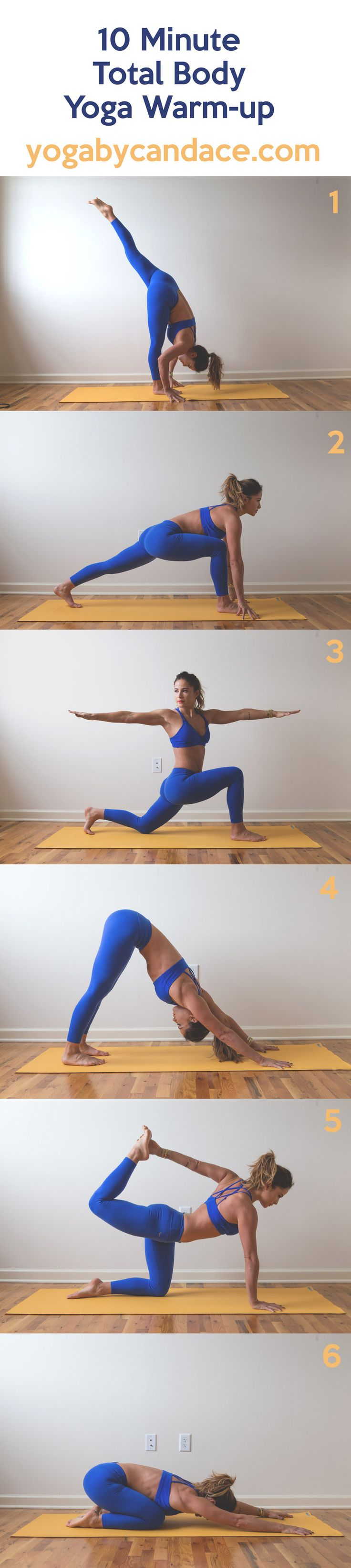 Total Body Yoga Warm Up