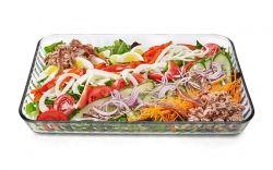Salată cu ton pentru toată familia.  www.masafamiliei.ro