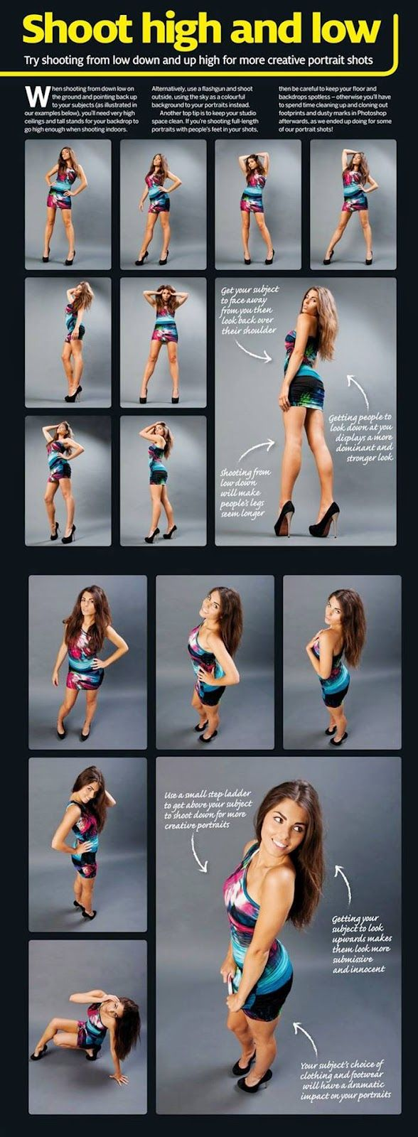 Great ideas for a girls photo shoot