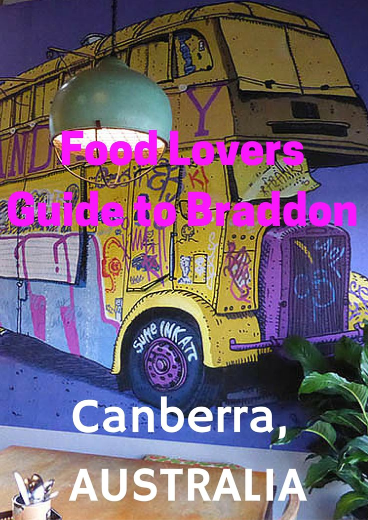 Food Lovers Guide to #Braddon, #Canberra #Australia  Paula McInerney   contentedtraveller.com
