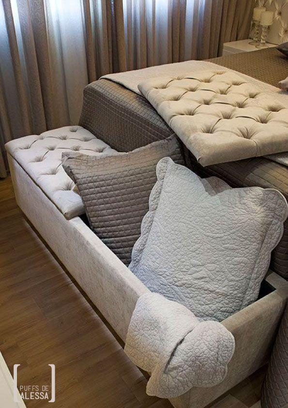 O puff Bonine é um excelente item para deixar o ambiente bonito e organizado. Ele foi projetado para propiciar o máximo de aproveitamento interno. Seu assento é facilmente removível, sem parecer um baú. Ele pode ser usado em quartos e salas.