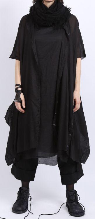rundholz - Schlauchkleid Unterkleid Batist black - Sommer 2016