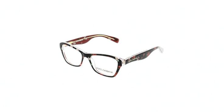 Dolce & Gabbana Glasses DG3202 2986 47 is a multi frame and is designed for women. It is a xtra small style with a 47mm lens diameter. The bridge size for this model is 15mm and the side length is 130mm. This adult designer prescription glasses model is a
