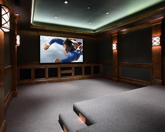 Best Images About Theatre Room Ideas On Pinterest Pictures A Medium And Home  Theater Design With Media Room Ideas.