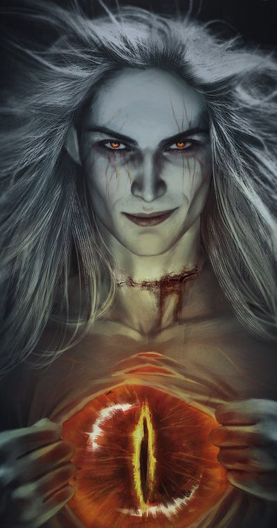 """Sharks and knives — For Silmarillion Ask on vk. They asked Sauron """"can..."""