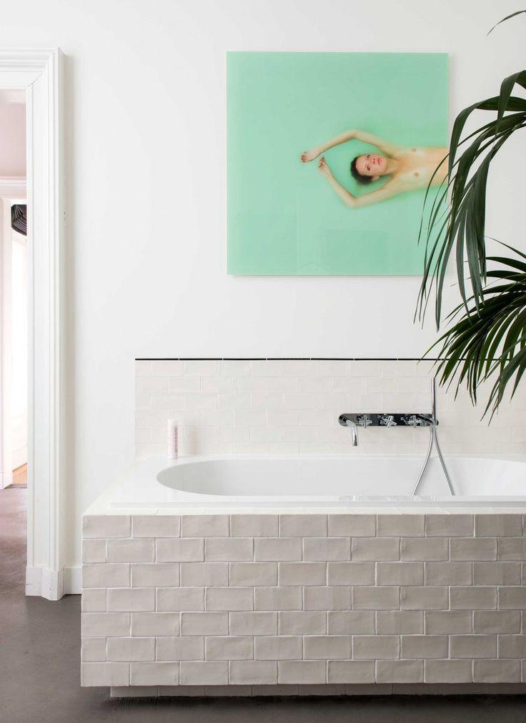 25 beste idee n over badkamer schilderijen op pinterest for Inrichting tekenen