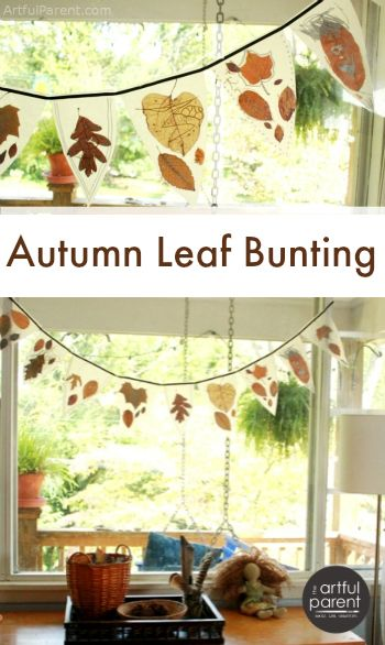 A tutorial to make a no-sew autumn leaf bunting that is both ethereal and earthy. Love this one!