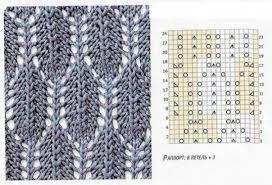 Картинки по запросу ажурные ромбы спицами схемы и описание
