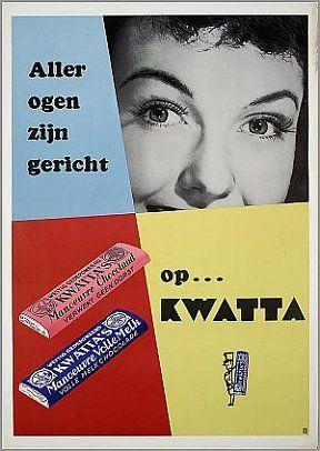 Kwatta reclame jaren 50