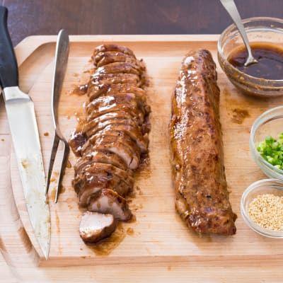 Slow-Cooker Teriyaki Pork Tenderloin
