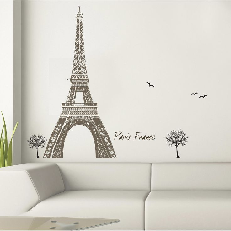 48 best paris city wall decals stickers images on pinterest paris rooms wall decals and. Black Bedroom Furniture Sets. Home Design Ideas