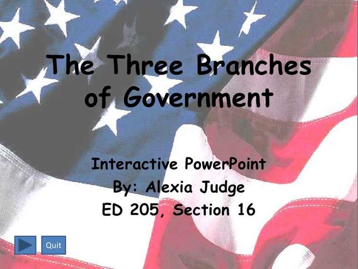 the-three-branches-of-government by judgea via Slideshare
