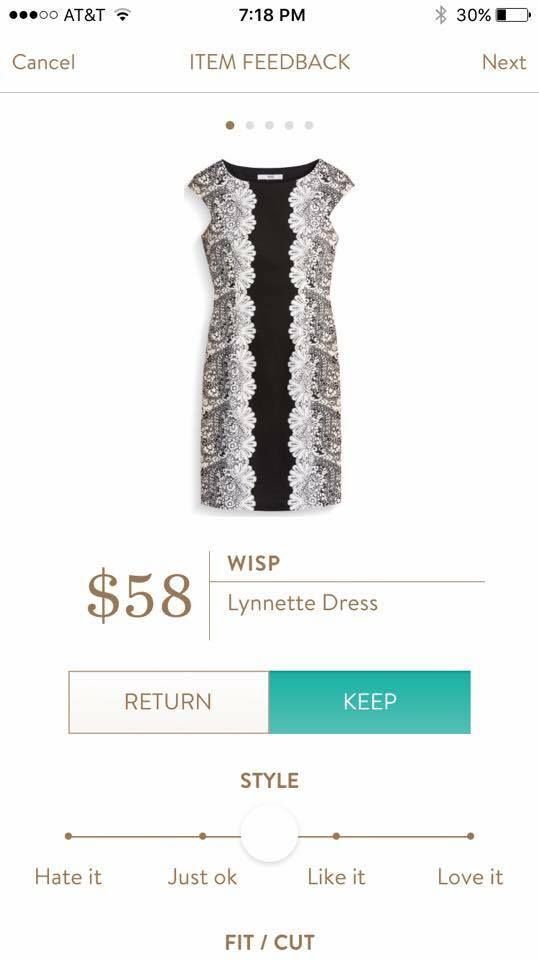 Stitch Fix Wisp Lynnette Dress. I love Stitch Fix! A personalized styling service and it's amazing!! Simply fill out a style profile with sizing and preferences. Then your very own stylist selects 5 pieces to send to you to try out at home. Keep what you love and return what you don't. Only a $20 fee which is also applied to anything you keep. Plus, if you keep all 5 pieces you get 25% off! Free shipping both ways. Schedule your first fix using the link below! #stitchfix @stitchfix…