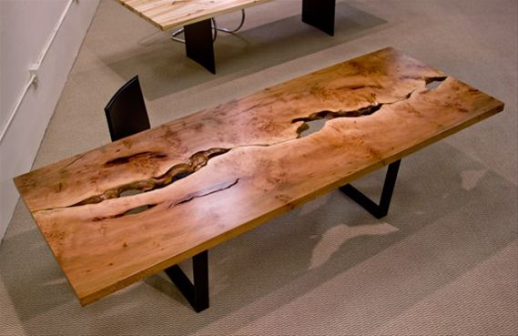 Urban Hardwoods Furniture Seattle Sycamore Dining Table