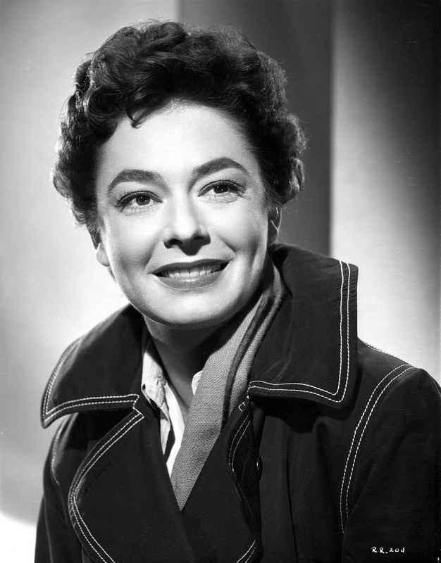 Ruth Roman smiling in Classic Portrait High Quality Photo – Movie Star News