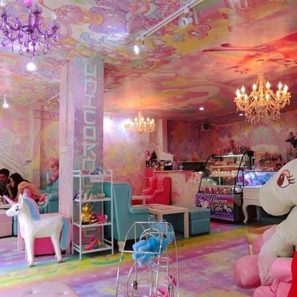 This Unicorn Café In Bangkok Is Like Finding The End Of The Rainbow