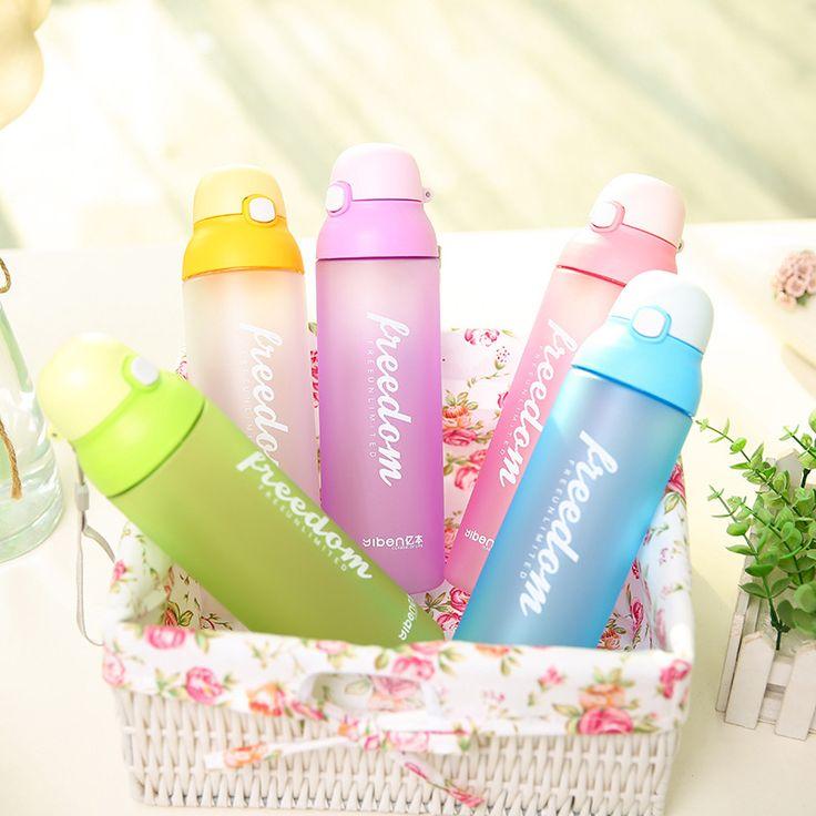 2017 Hot Selling My Water Bottle Space Cup Kids 580ML Cartoon Botella de Agua Shaker Drink Bottle Plastic Mug Botellas Para Agua