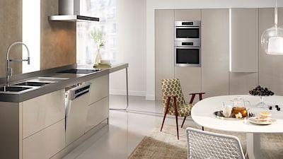 Řada ABSOLUTE nabízí jednotný design pro celou kuchyni.