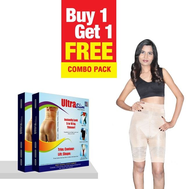 Ultra Slim For Female - Made From 80% Nylon , 20% Elastane is Available in Small…
