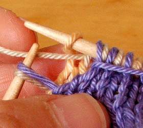 how to double knit