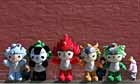 2008 'Fuwa' olympic mascots, Beijing, China -Meet the 2012 mascots video