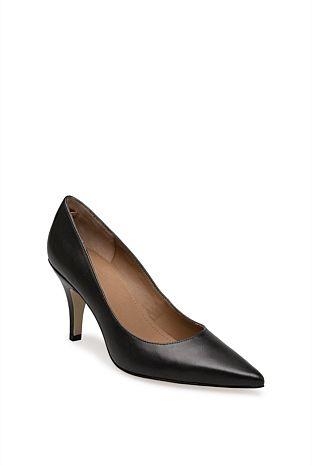 Soraya Leather Heel