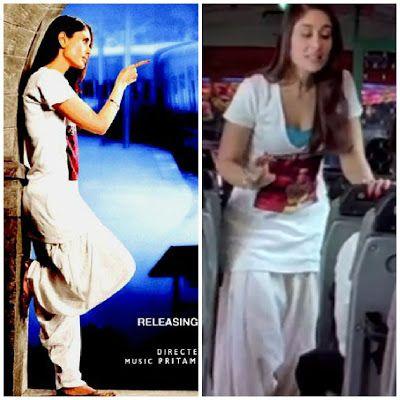 how to get kareena kapoor's jab we met look: salwaar with tshirt