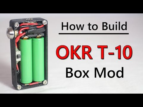 How to Build OKR Box Mod Tutorial - YouTube