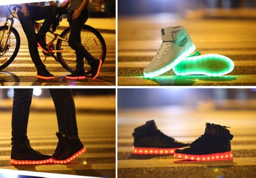 Lovers-LED-Night-Light-Couples-Men-Women-Light-Up-Trainer-Lace-Up-Shoes-Sneakers