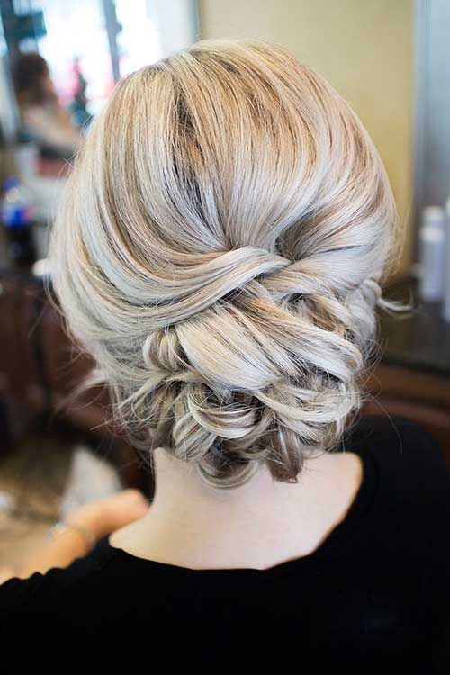 Prom Hairstyles Updos 552 Best Bridal Buns Images On Pinterest  Wedding Hairdos