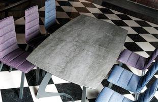 Kire discalsa table céramique vitre 35 rennes metal bois epoxy