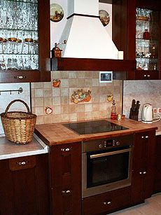 Как сделать кухонную столешницу из плитки