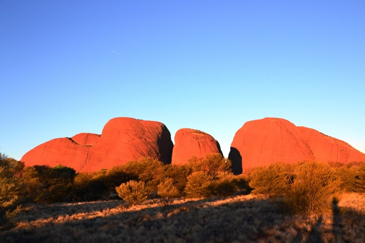 The Olgas at sunset - Travel Habit