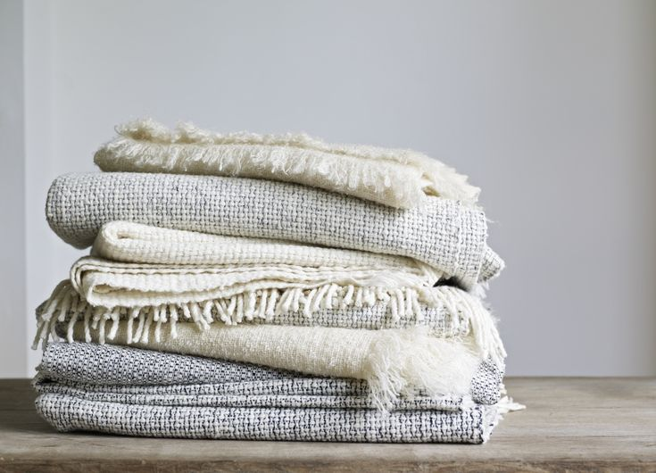 Mourne Textiles wool throws | Remodelista.