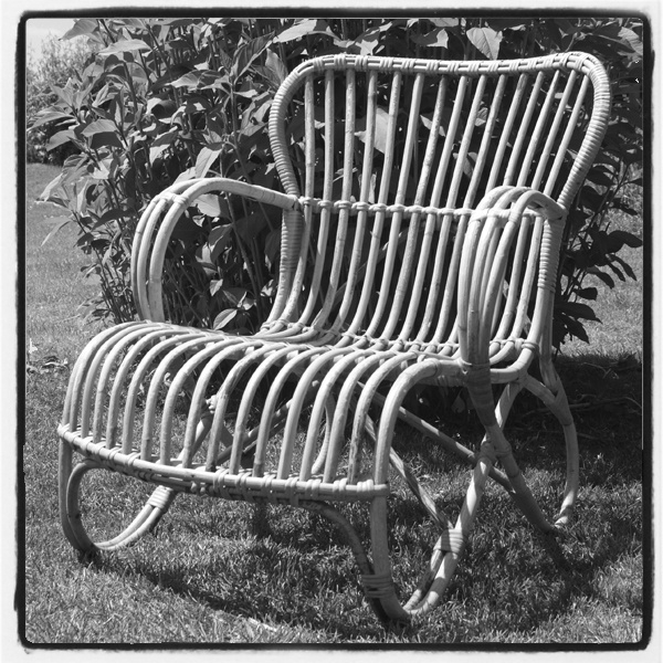 jaren 50 tuinstoel