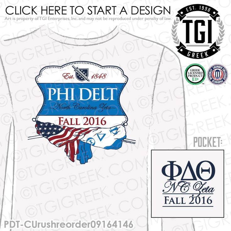 Phi Delta Theta | Phi Delta | ΦΔΘ | Recruitment | Fall Rush | Recruitment T-shirt | Recruitment Tees | Rush Tees | Rush T-shirts | Greek Recruitment | Custom Greek Apparel | TGI Greek | Greek Apparel | Custom Apparel | Fraternity Tee Shirts | Fraternity T-shirts