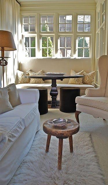 198 best images about sunroom on pinterest home design for Sunroom breakfast nook