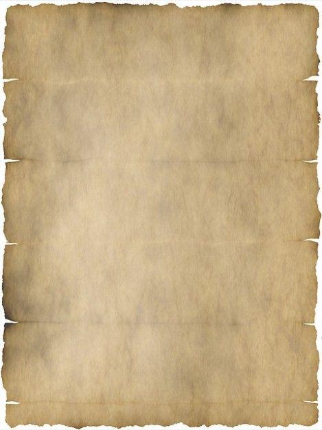 velho pergaminho vezes papelaria papel dobrado kink Foto gratuita