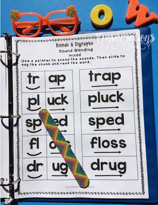 I need this Blends and Digraphs Intervention Binder for my RTI groups!