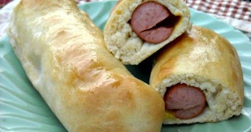Mommy's Kitchen - Recipes From my Texas Kitchen!: Homemade Piggies in a Blanket {Pigs in a Blanket}