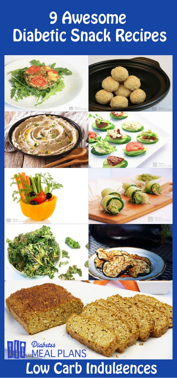 9 Diabetic Snack Recipes: Low Carb