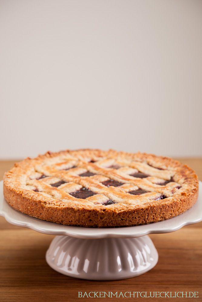 Perfekter Herbstkuchen: Köstliche Linzer Torte und Linzer Schnitten   http://www.backenmachtgluecklich.de