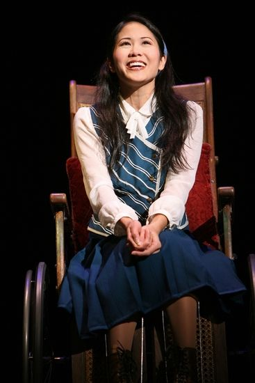 Deedee Magno Hall as Nessarose in WICKED