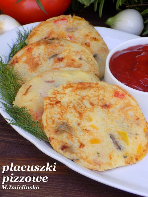 Domowa Cukierenka - Domowa Kuchnia: placuszki pizzowe