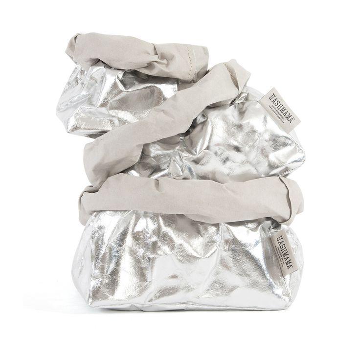 Uashmama Paper Bag Silver